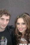 with Cheryl Cole